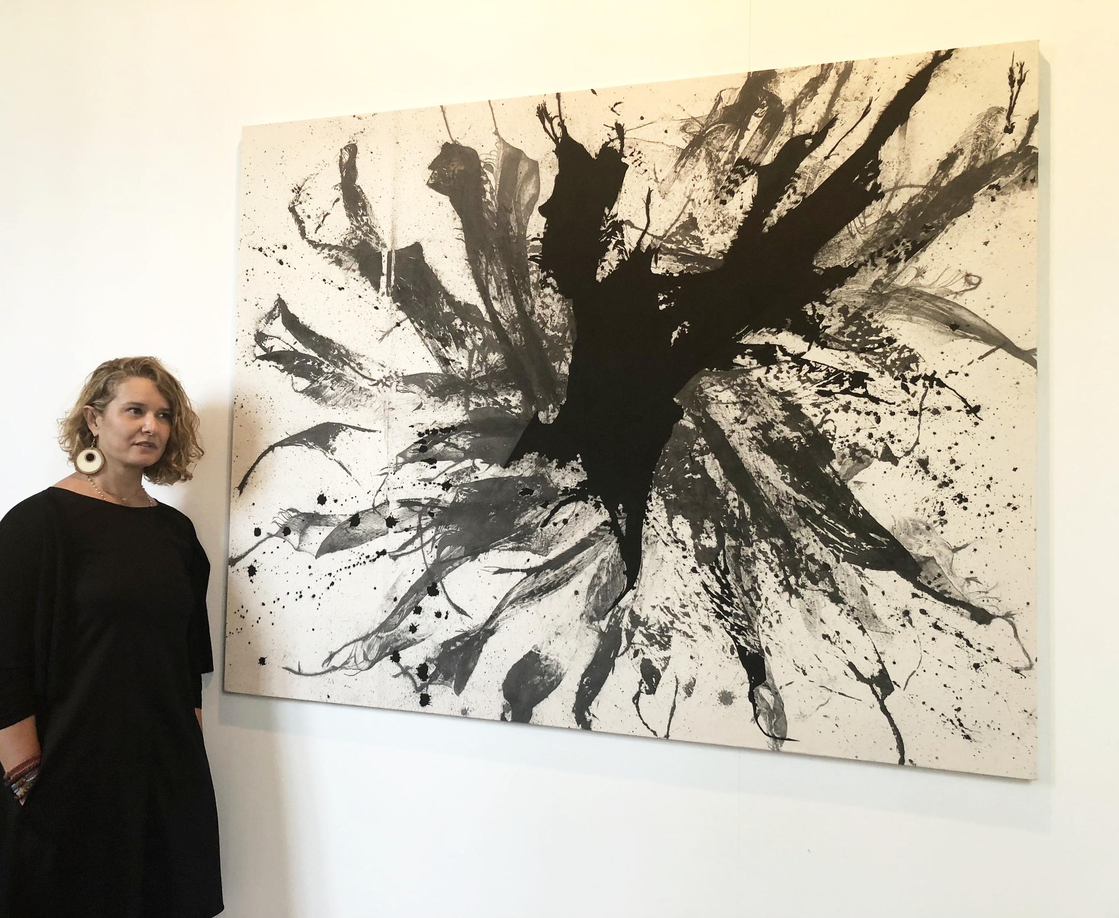 Zena Al Khalil's Ganges River at Giorgio Persano Gallery