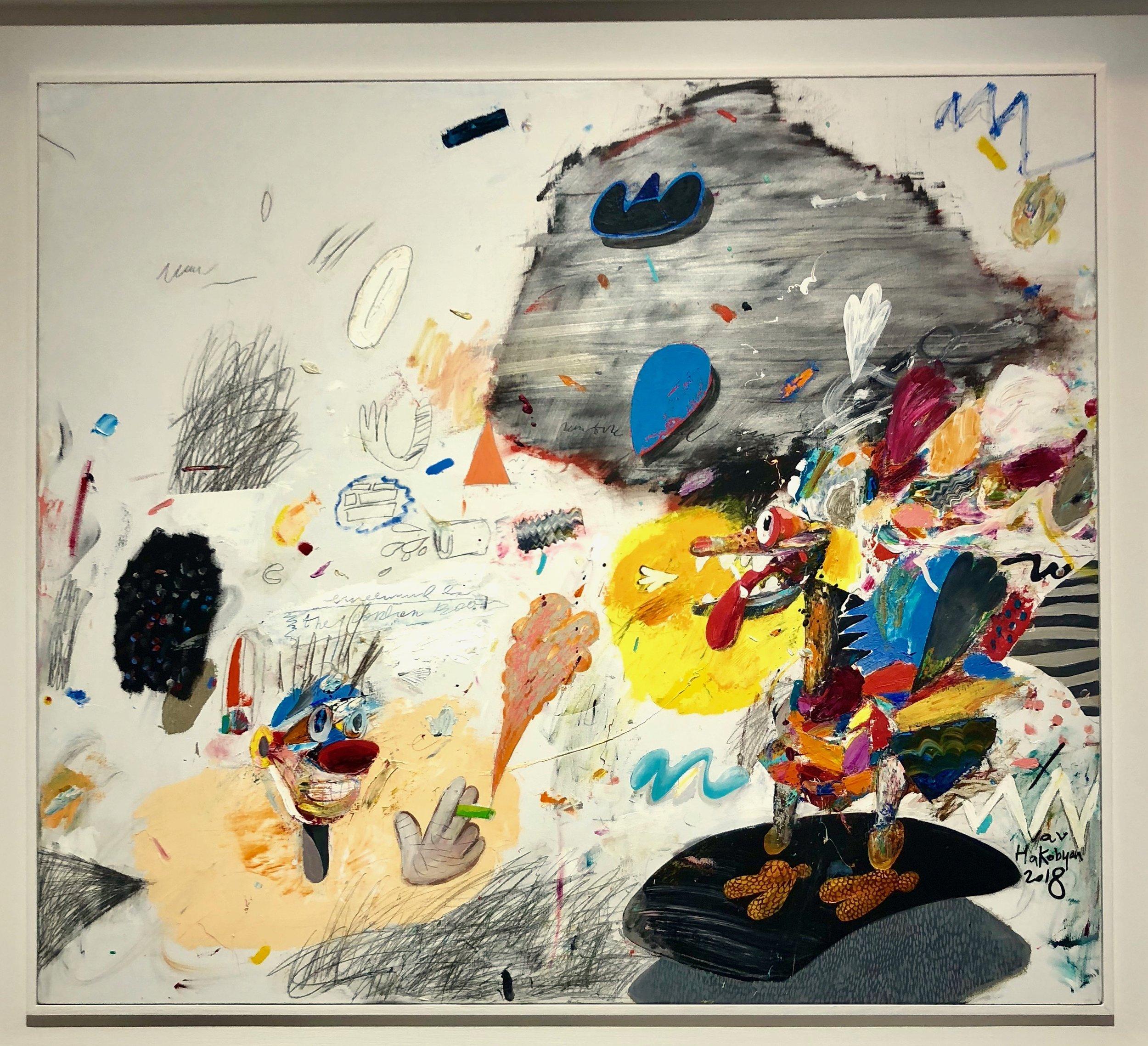Van Hakobyan at Galeri 77