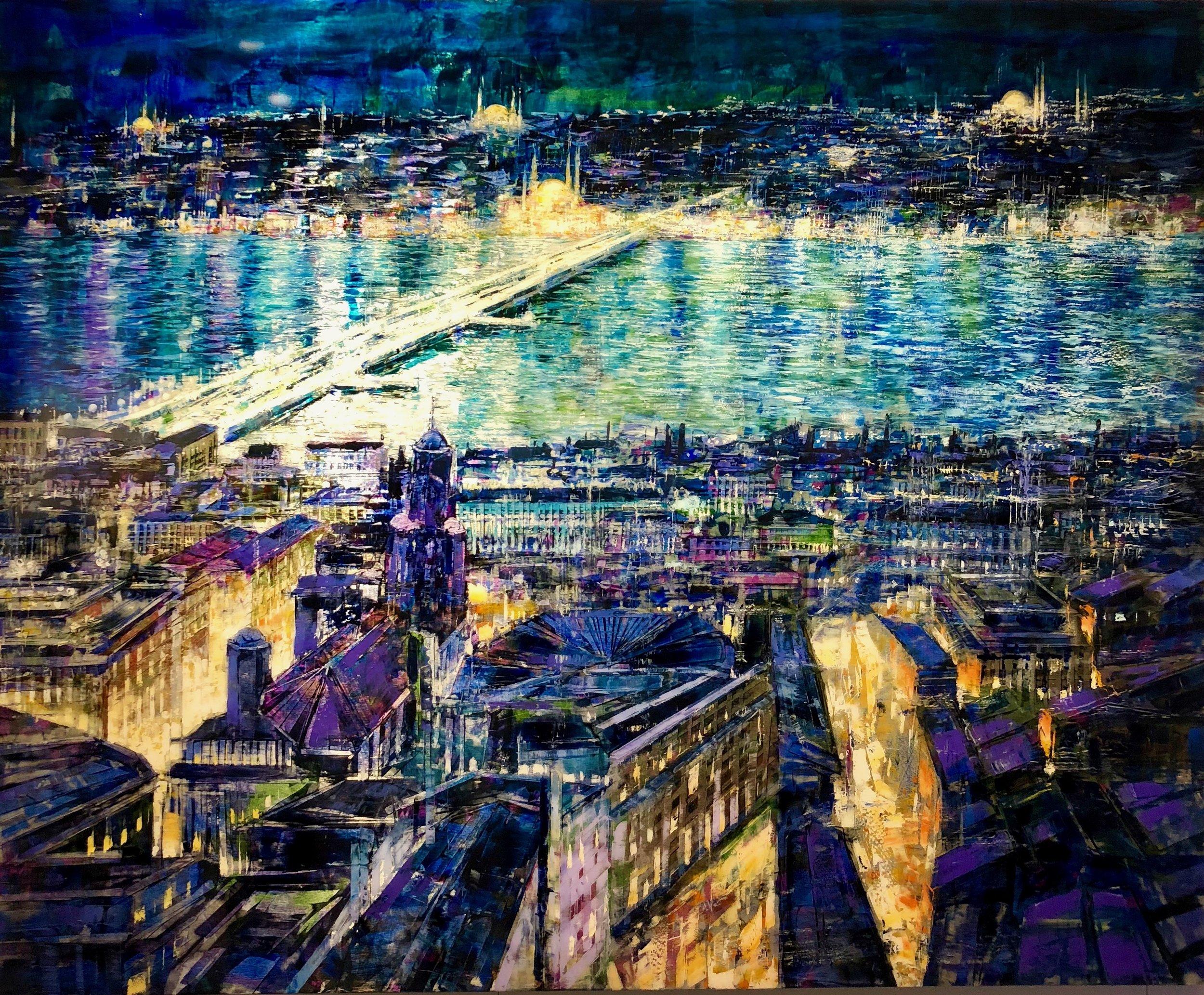 Antonio Sannino's stunning portrayal of Istanbul! At Liquid Art System