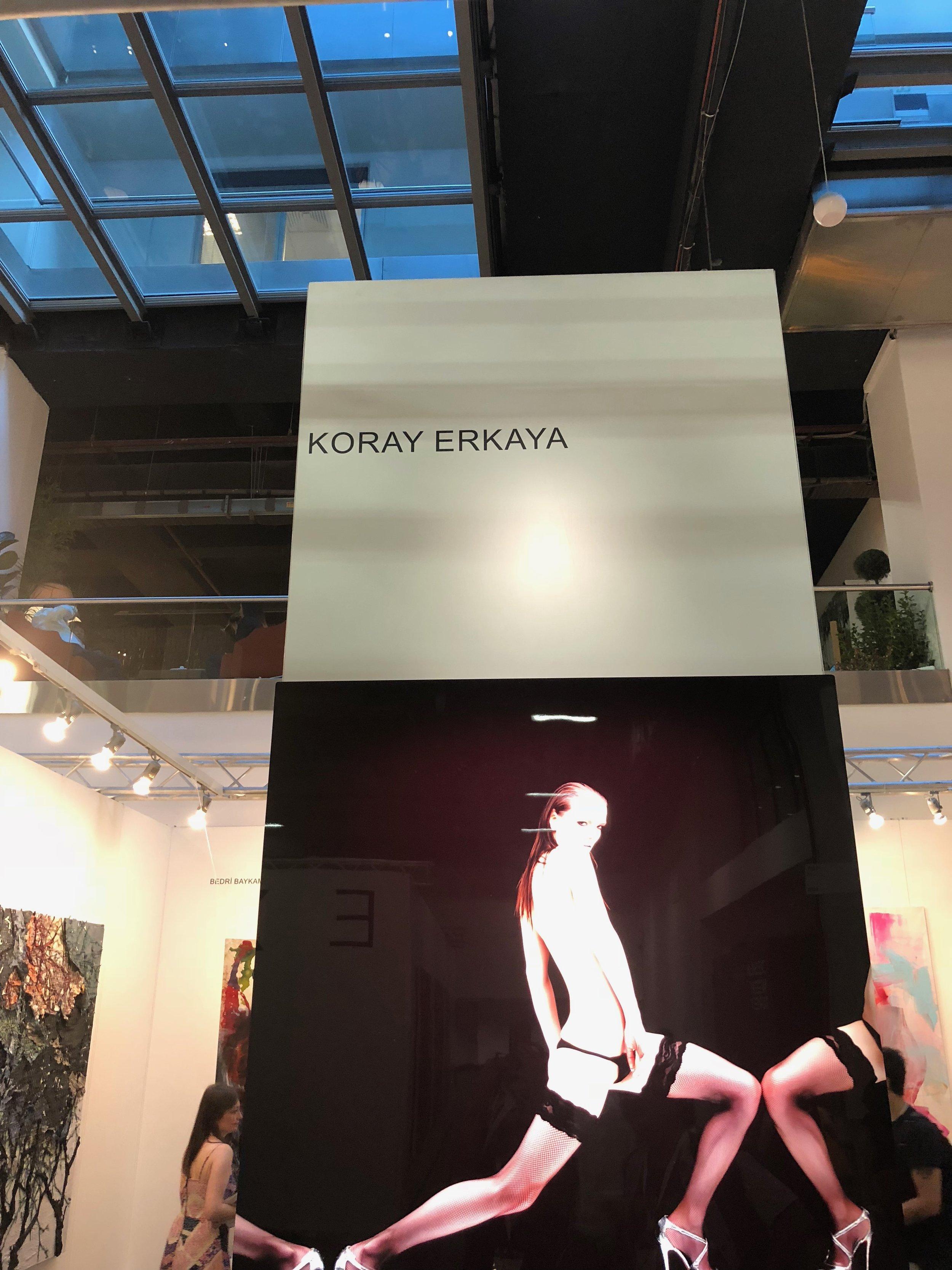 Koray Erkaya at Pyramid Sanat