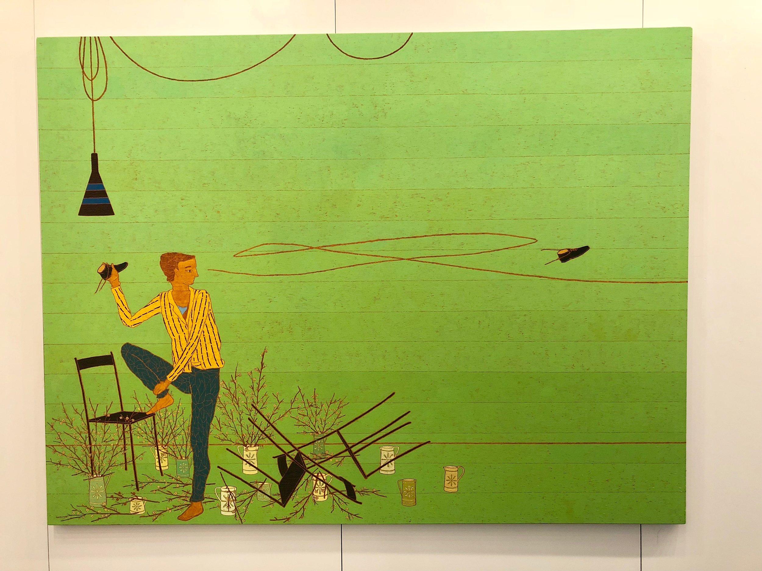 Stephen Chambers RA at Atelier Rose & Gray