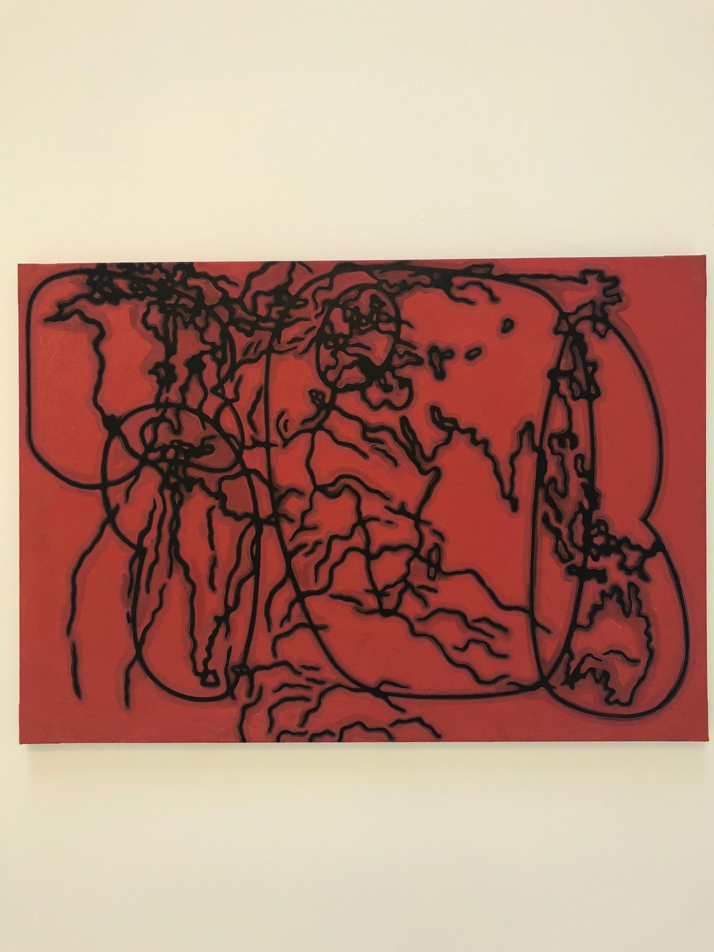 Yamandu Canosa's exhibition at Arte Aurora Barcelona