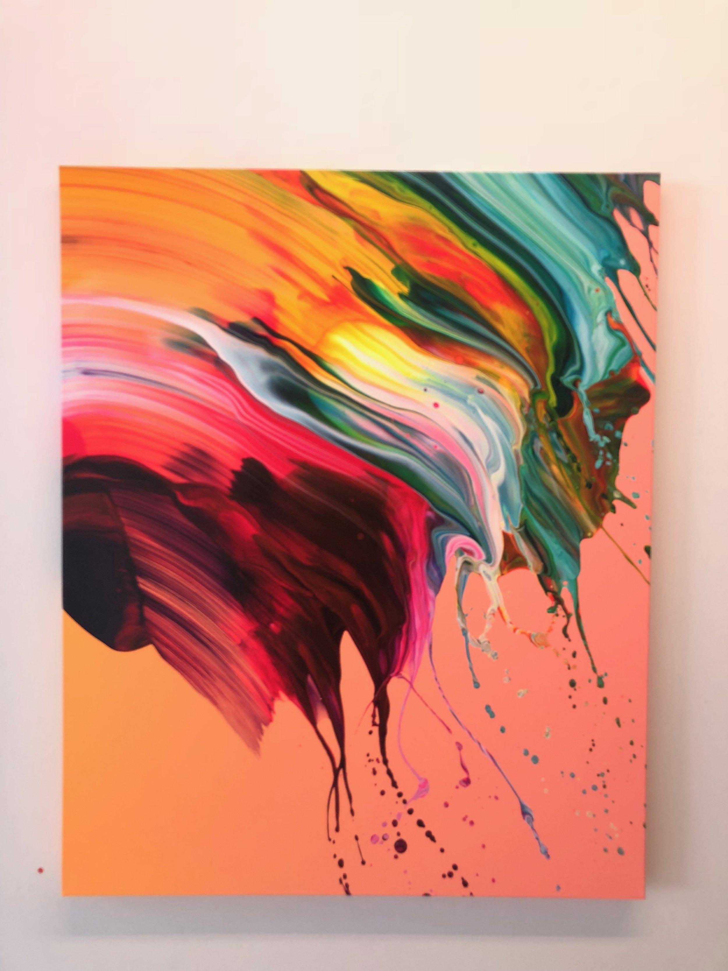 Yago Hortal's show at Galeria Senda