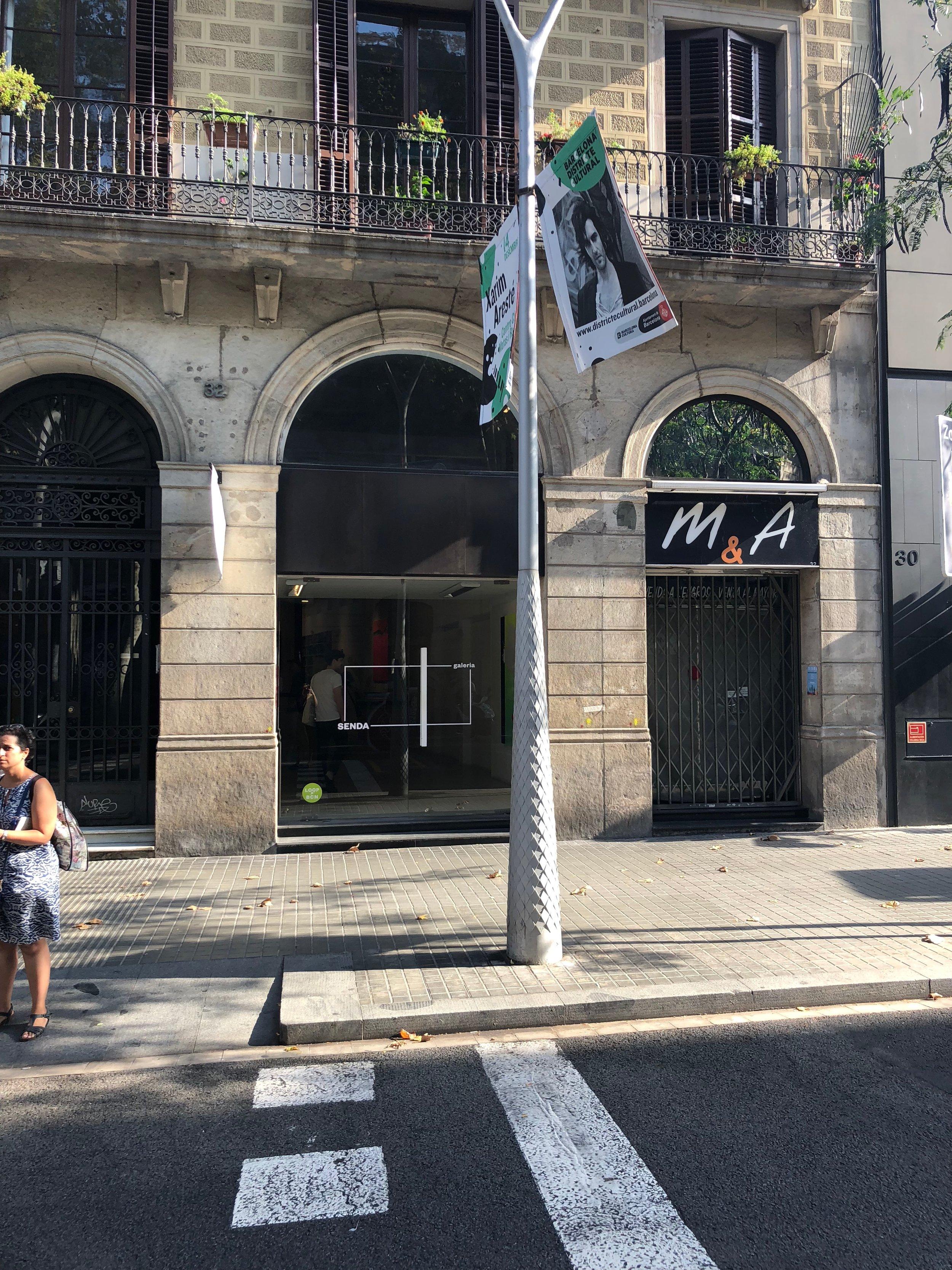 Galeria Senda in Trafalgar street
