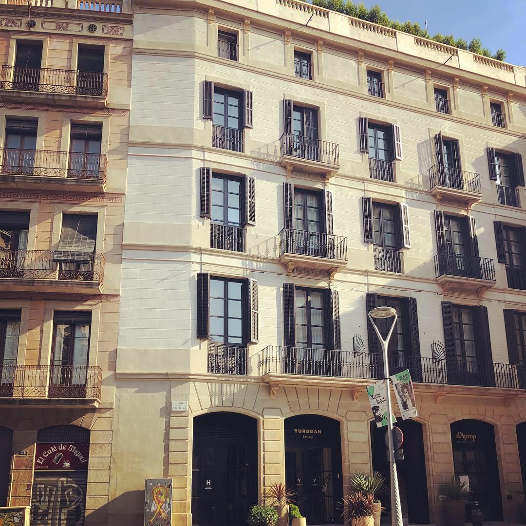 The trendy Yurbban hotel Barcelona