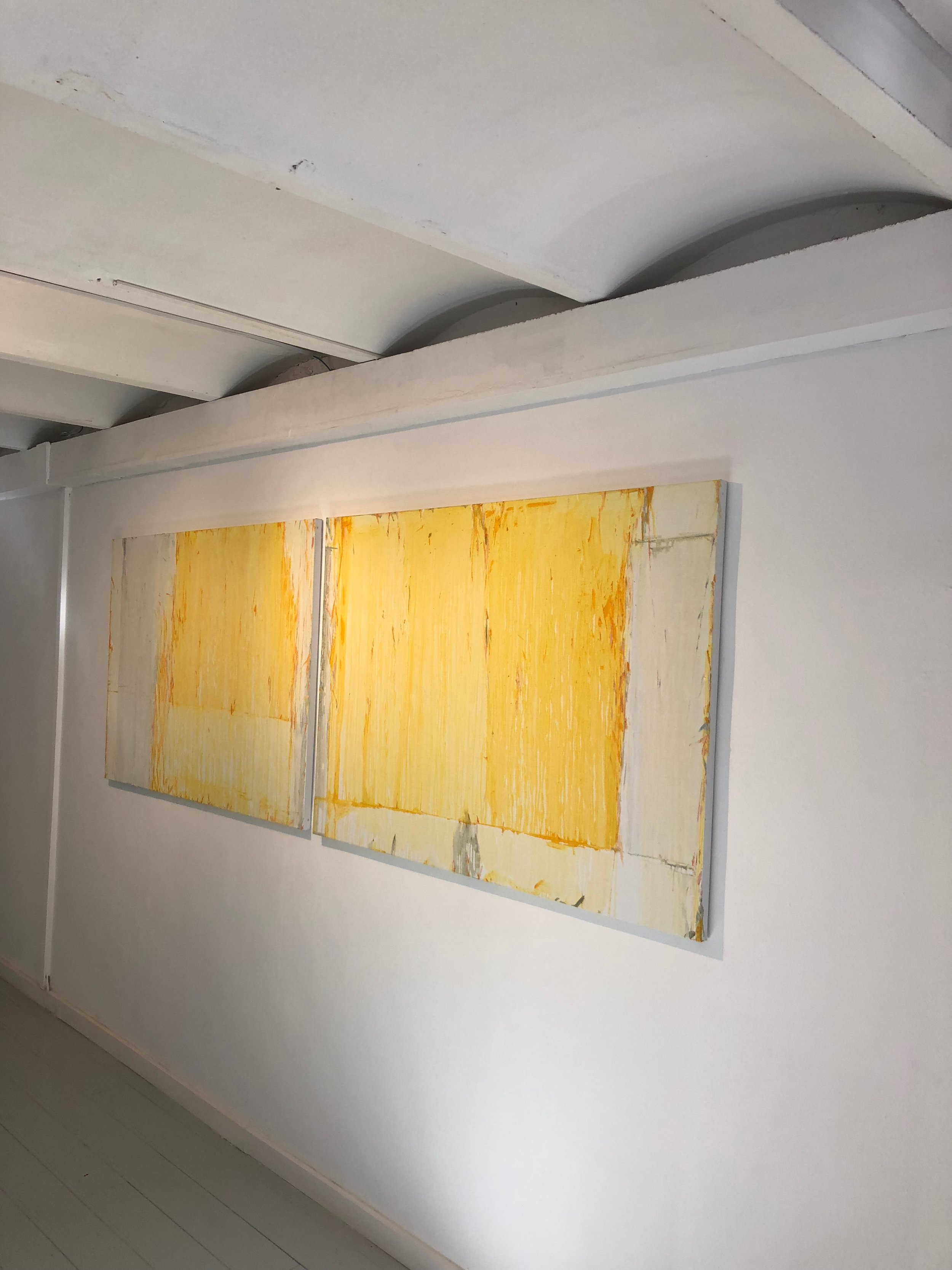 Pietro Capogrosso's dreamy works at L&B gallery