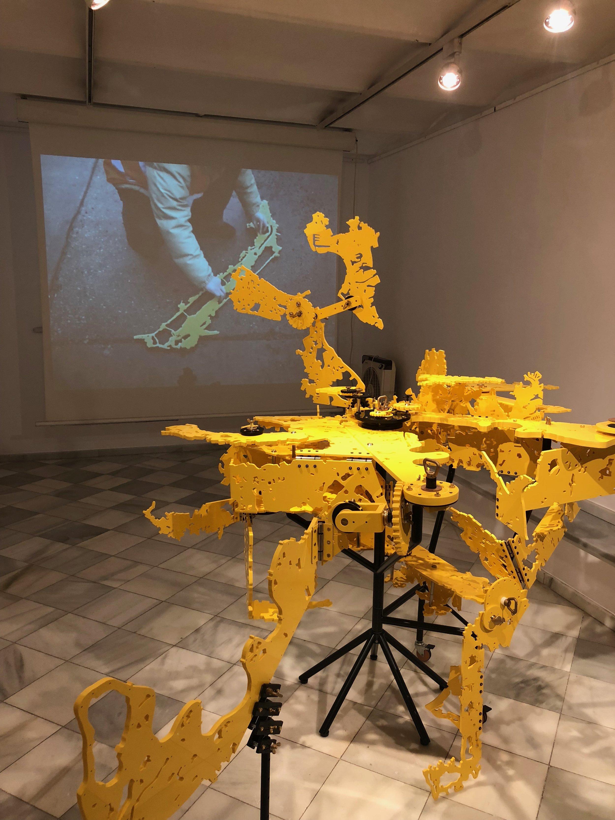 Ken'ichiro Taniguchi's sculptures at N2 gallery