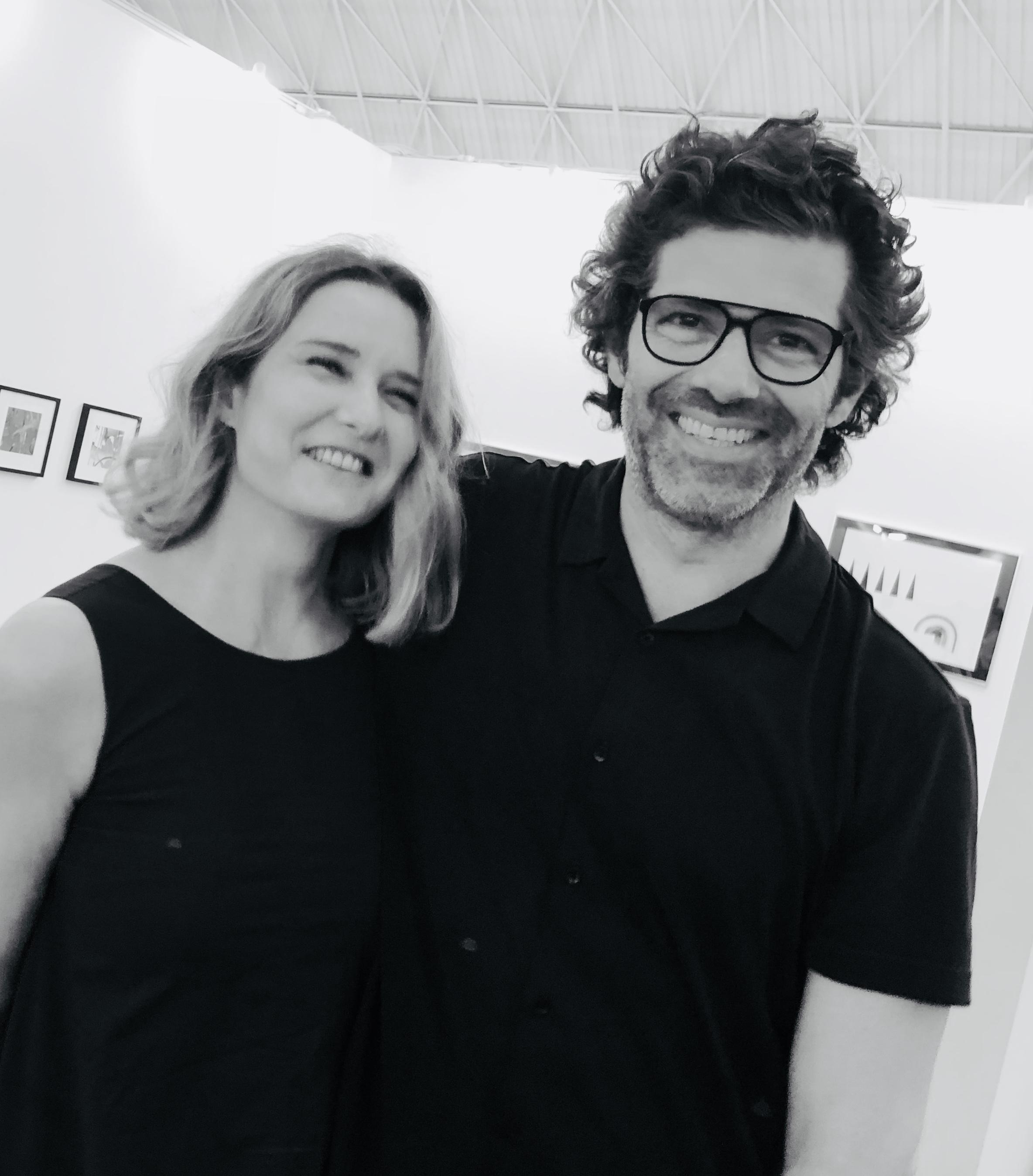 With Eduardo Marco