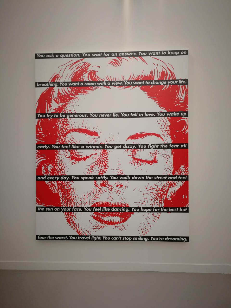 Barbara Kruger at Sprüth Magers gallery