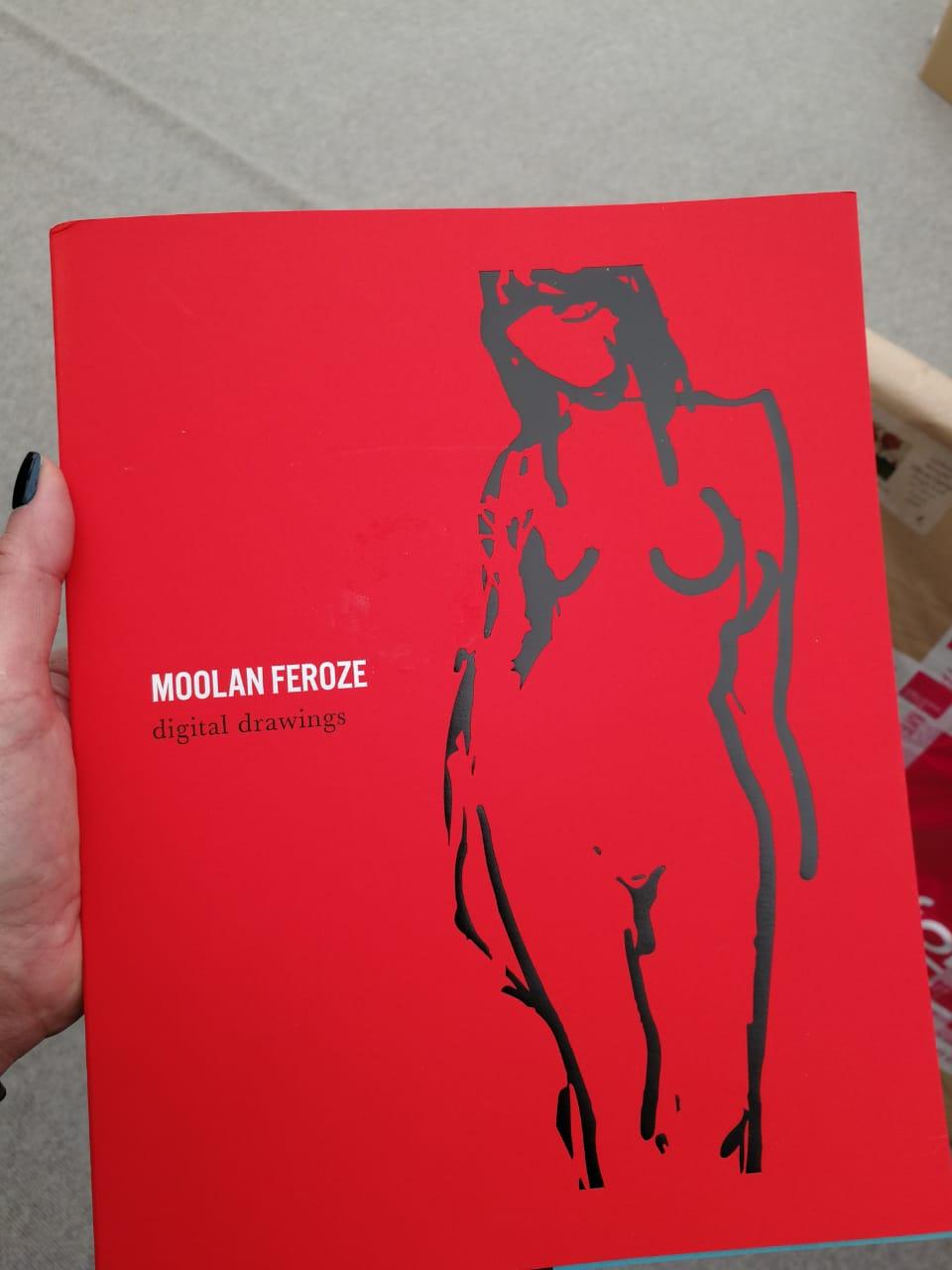 Peter Moolan-Feroze's book of nudes
