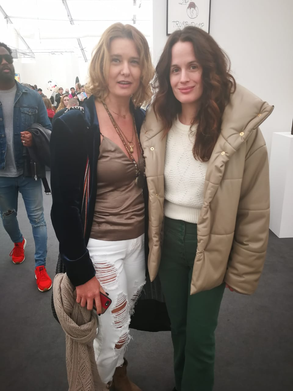 With actress Elizabeth Reaser