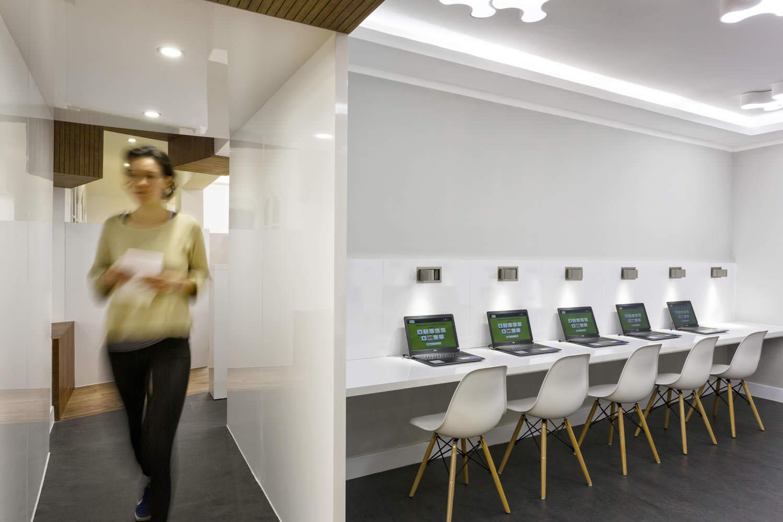 Multimedia space in Goethe Institute Hanoi | Interiors photographer in Vietnam | Francis Roux Photography