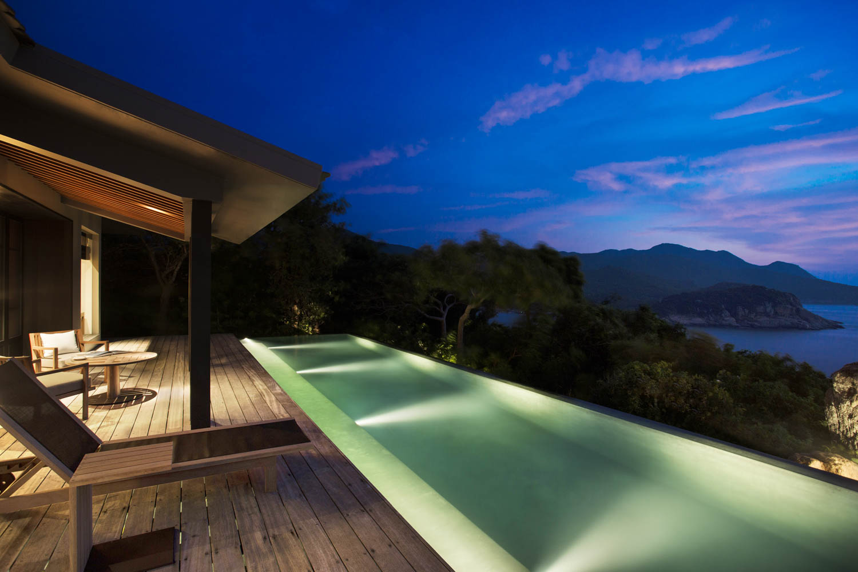 Private villa at the Amanoi Resort | Vietnam Resort Photographer Francis Roux