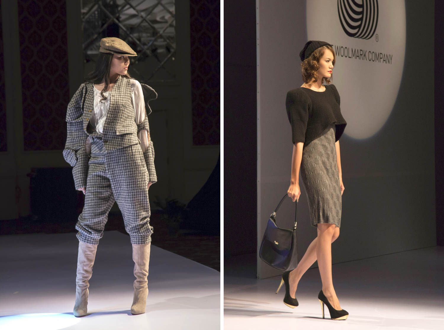 Catwalk at an event organized by The Woolmark Company | Ho Chi Minh Event Photographer | Francis Roux