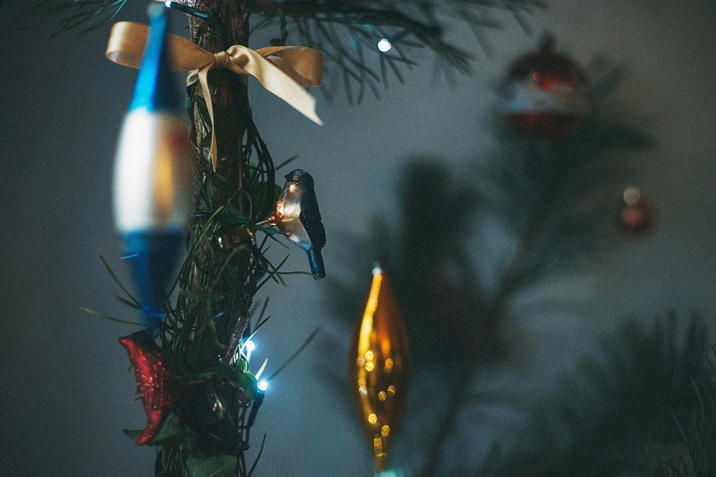 Vintage decorations captured beautifully by  Lulu