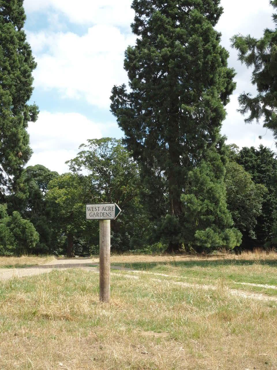 West acre gardens Norfolk