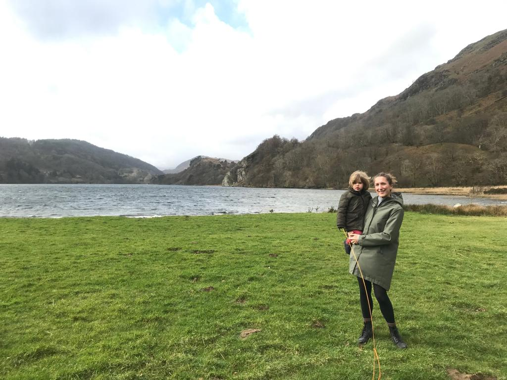 Camping in wales in february