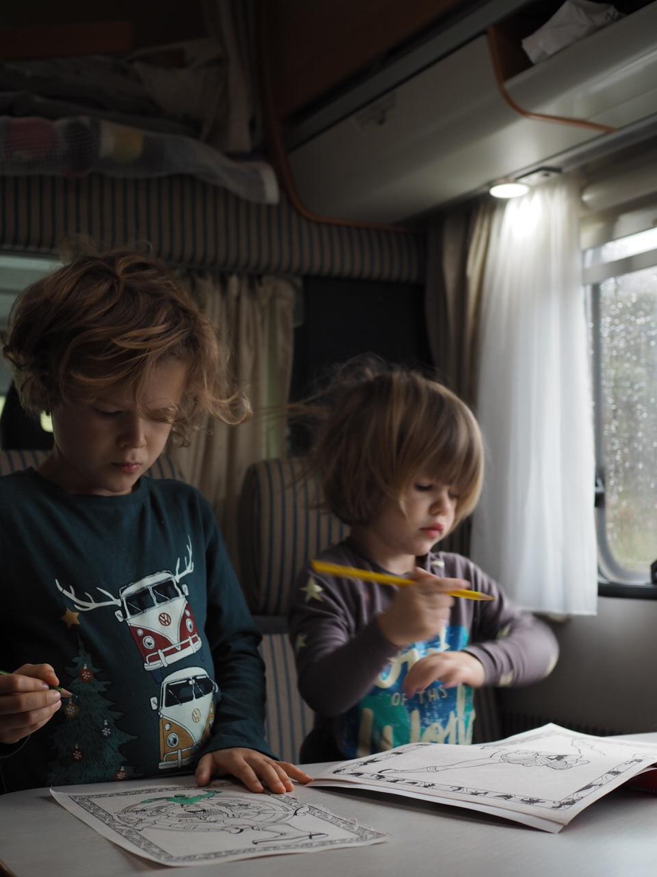 Life in a camper van