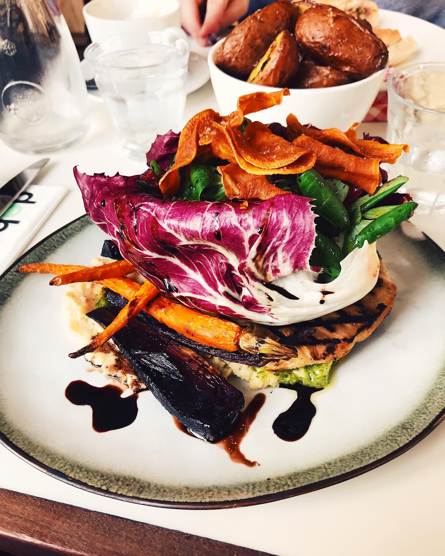 Veggie Steak at De Bellie