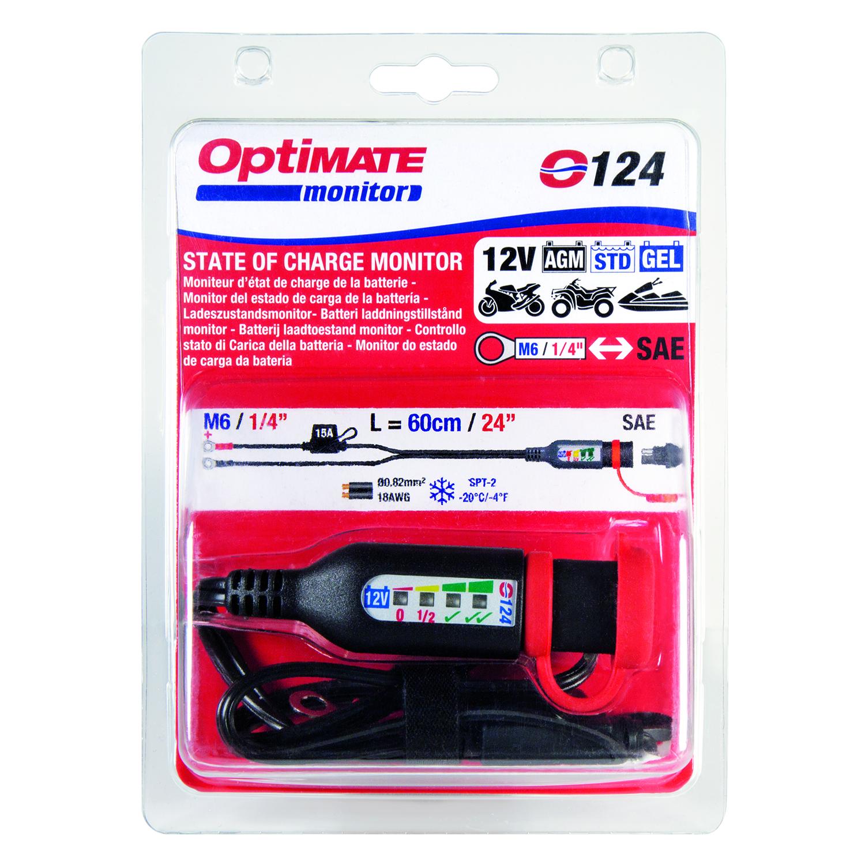 Eyelet Lead 0124 OptiMate LED Battery Monitor UK Supplier /& Warranty NEW