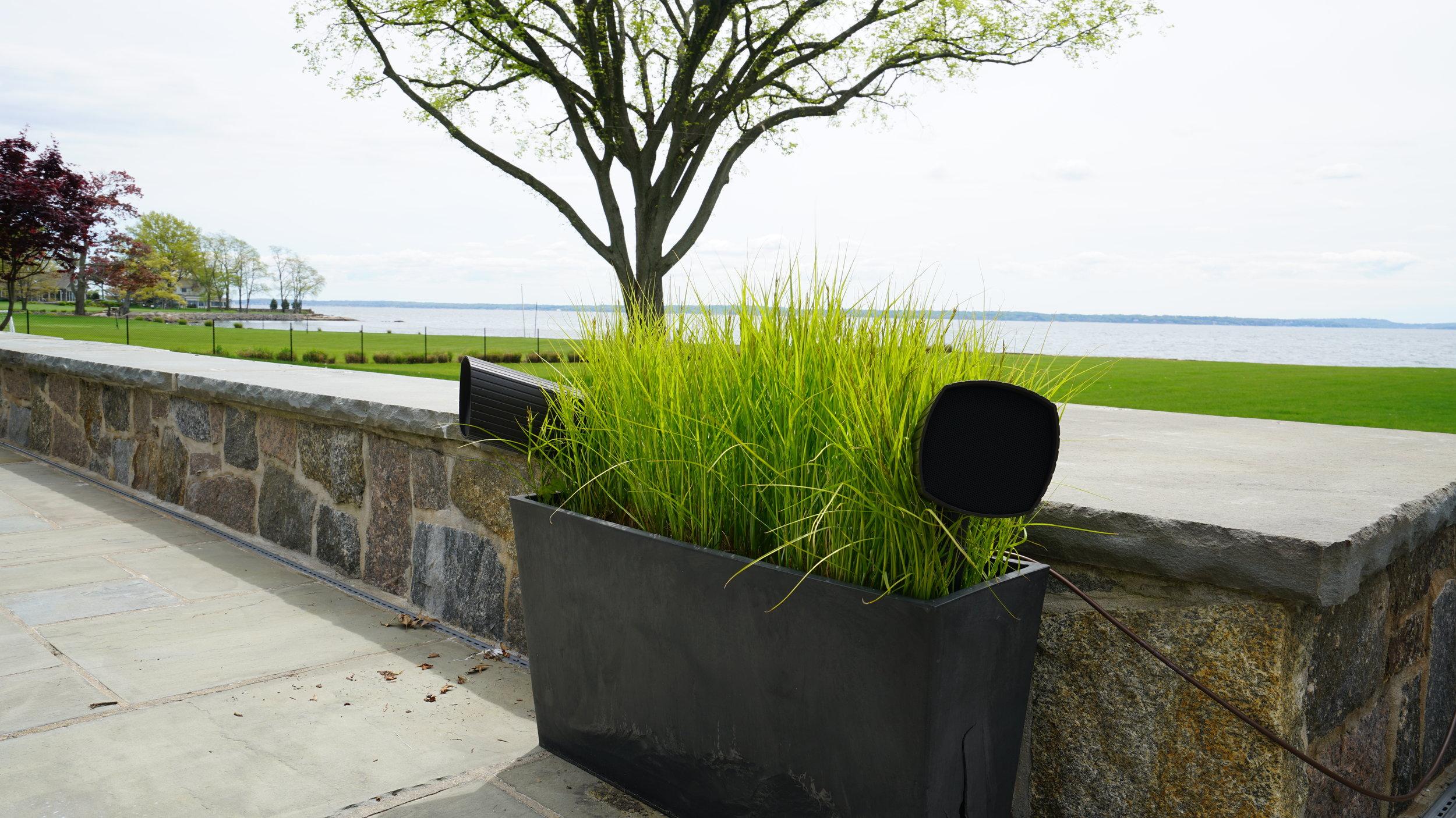 Planter Speakers