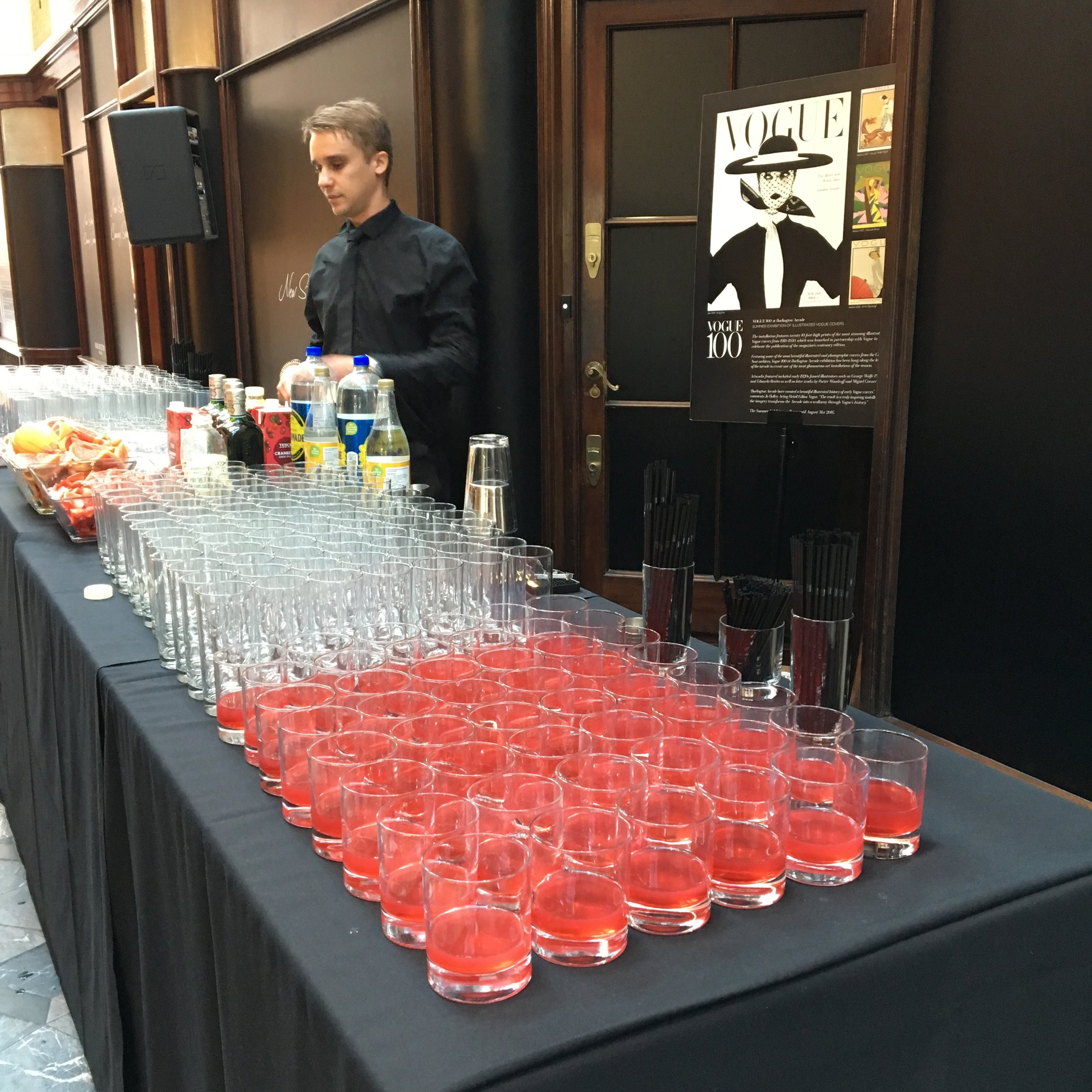 100 years vouge cocktails