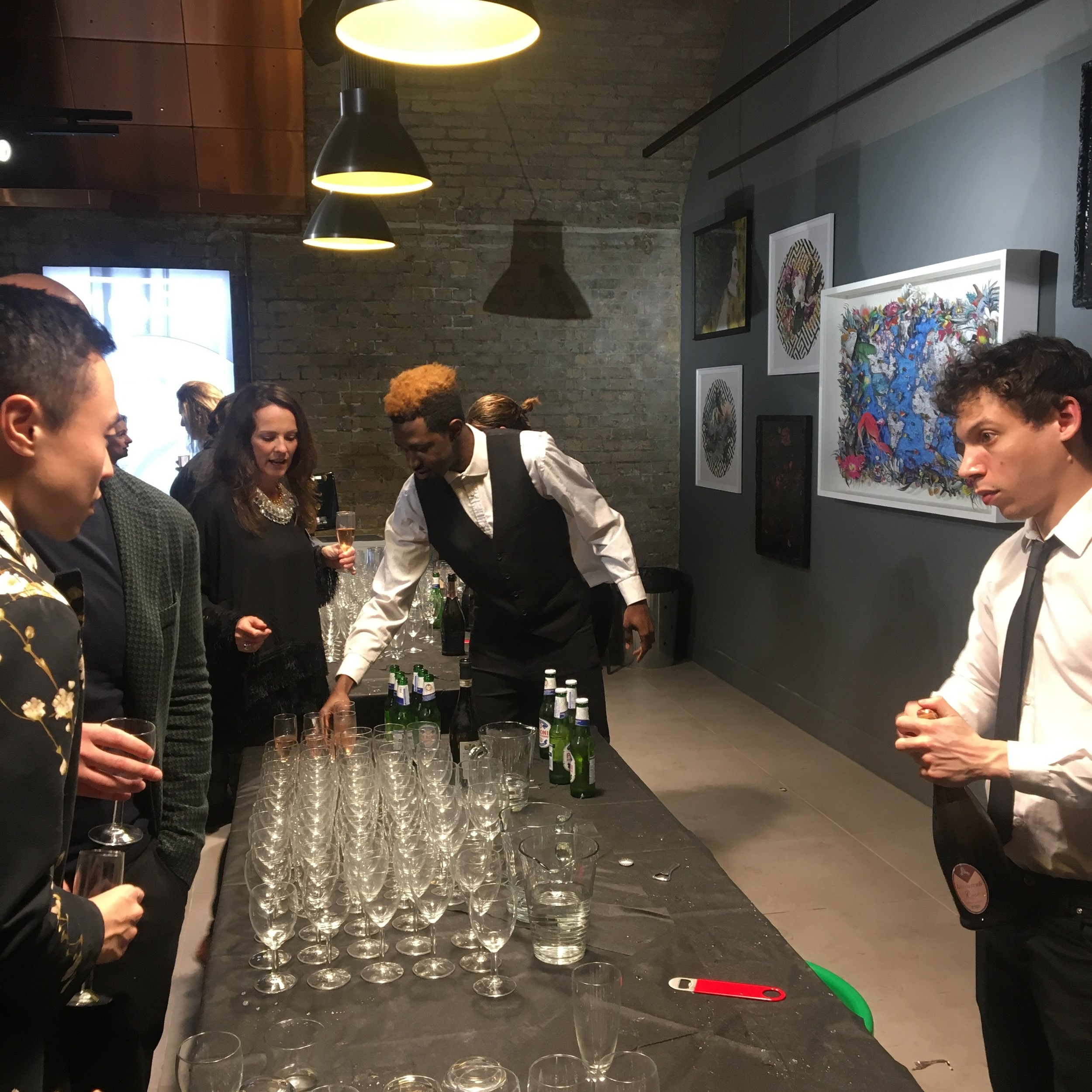 Corporate Christmas event drinks by Fresh Mint