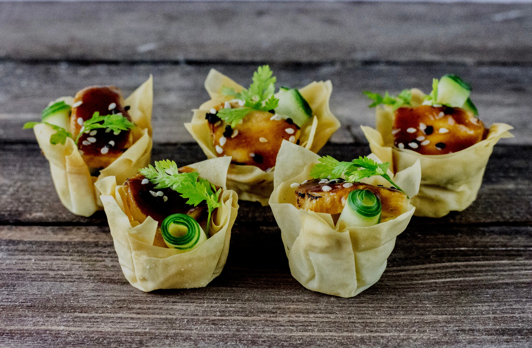 - Fresh mint and the Citron Vert team will be happy to work alongside you to produce catering that suits all your requirements, including individual bespoke menus for private events, for the film and music industries clients and talent, and any event catering in UK, Europe and all over the world.
