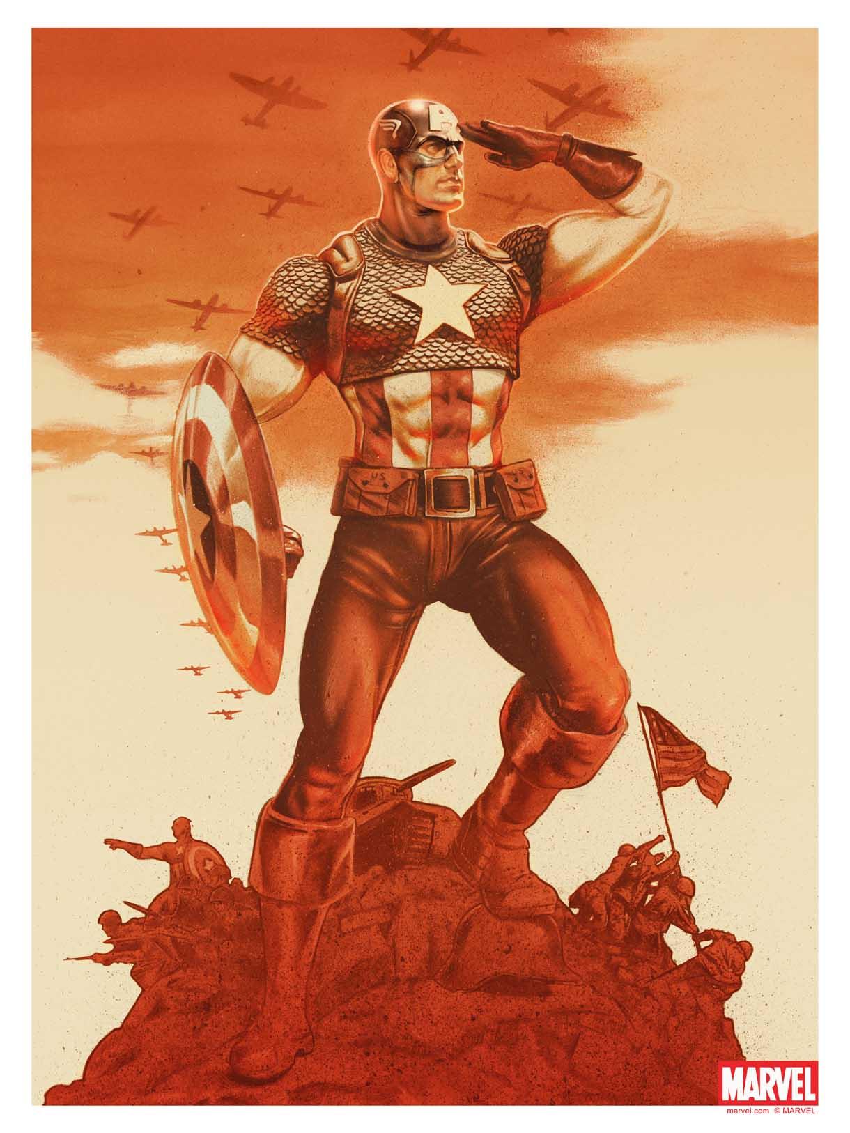 Captain America John Keaveney  Bottleneck Gallery.jpg