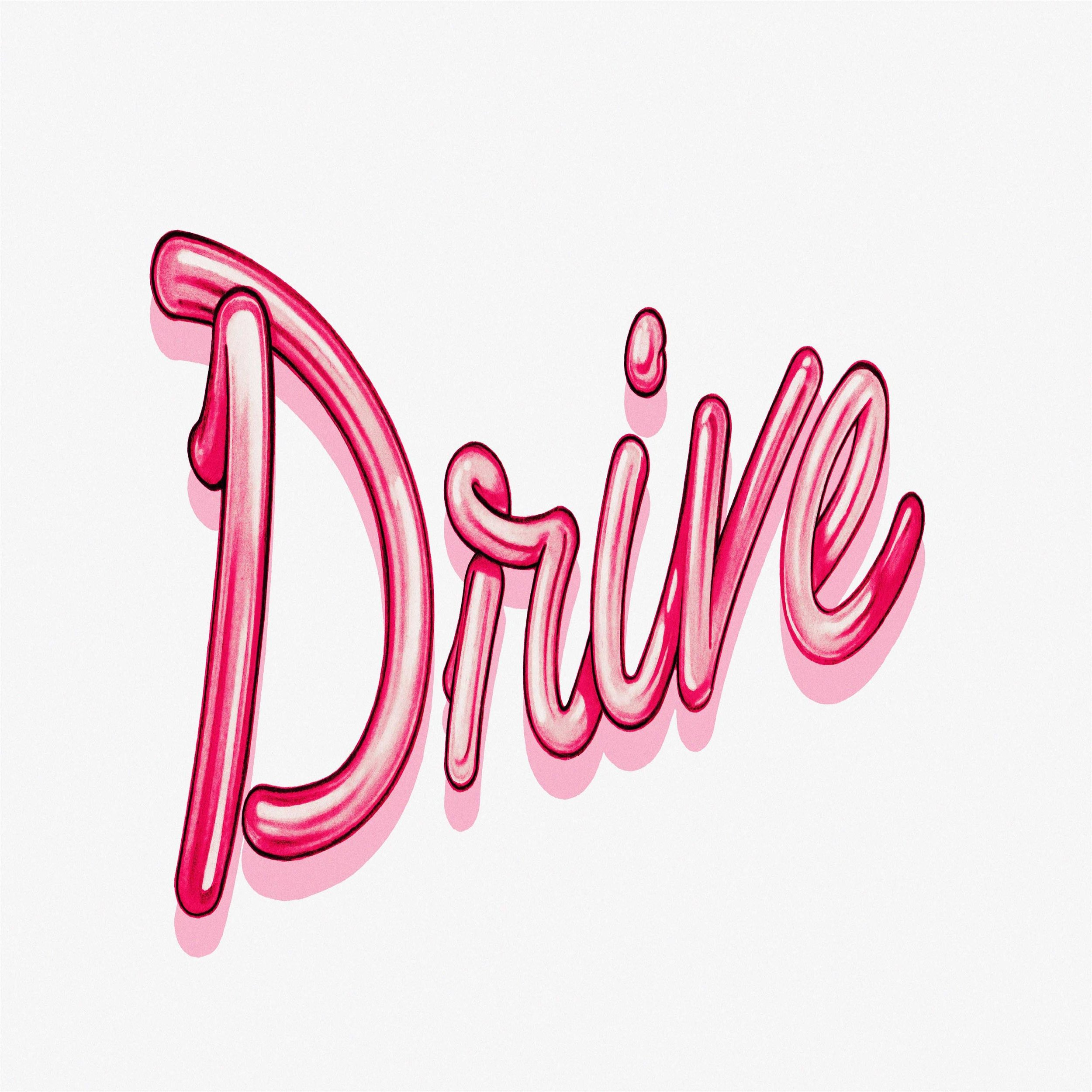 Drive Typography Art By John Keaveney.jpg