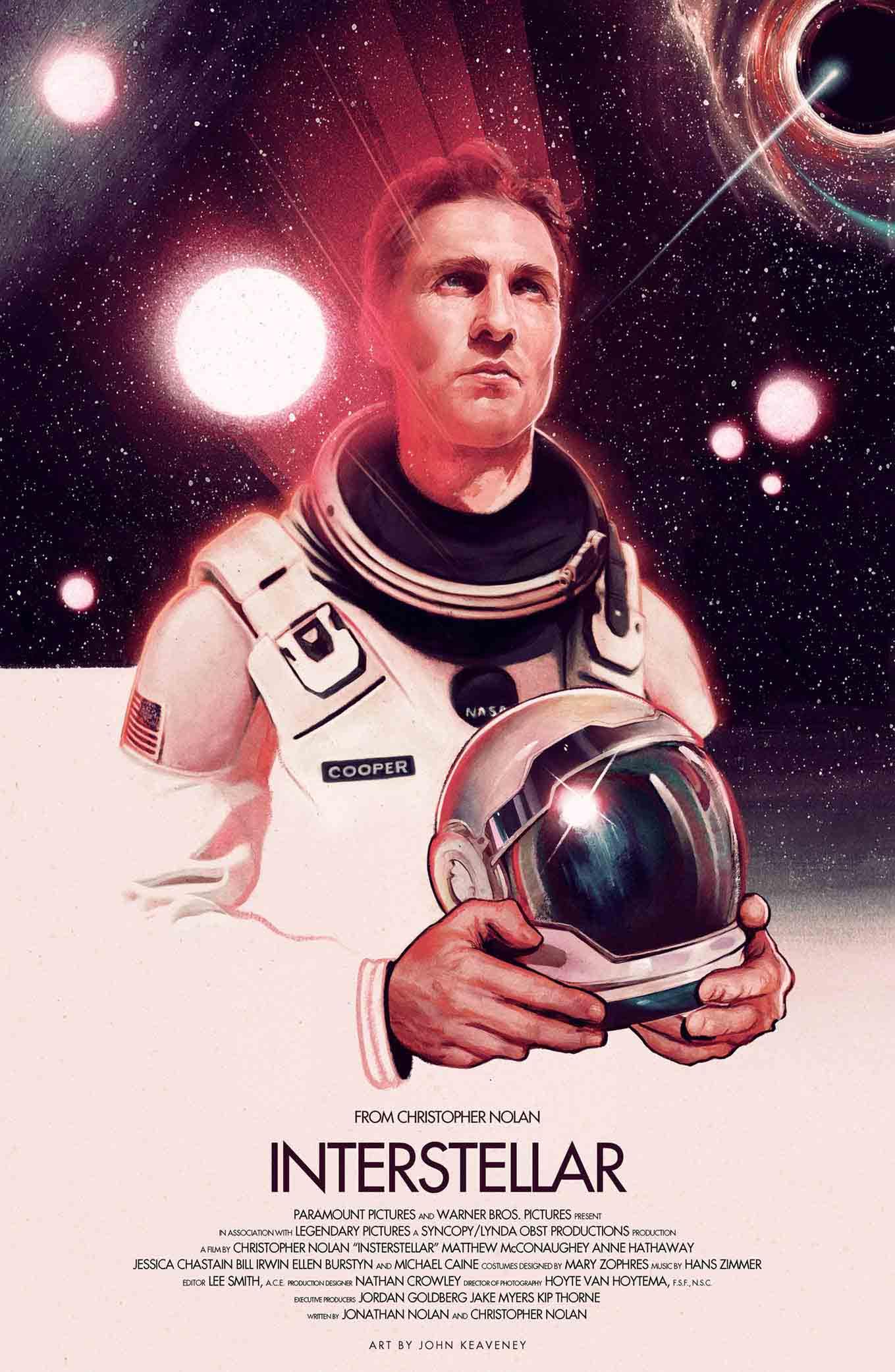 Interstellar Poster Alternative colour #Art By John Keaveney low res.jpg