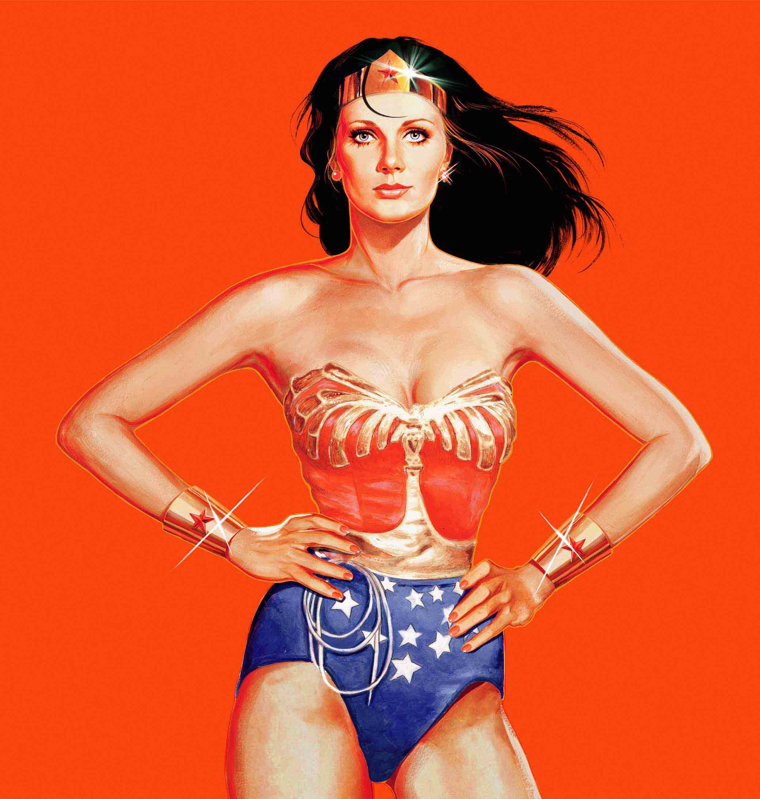 Wonder Woman  Red version Art By John Keaveney  low res.jpg