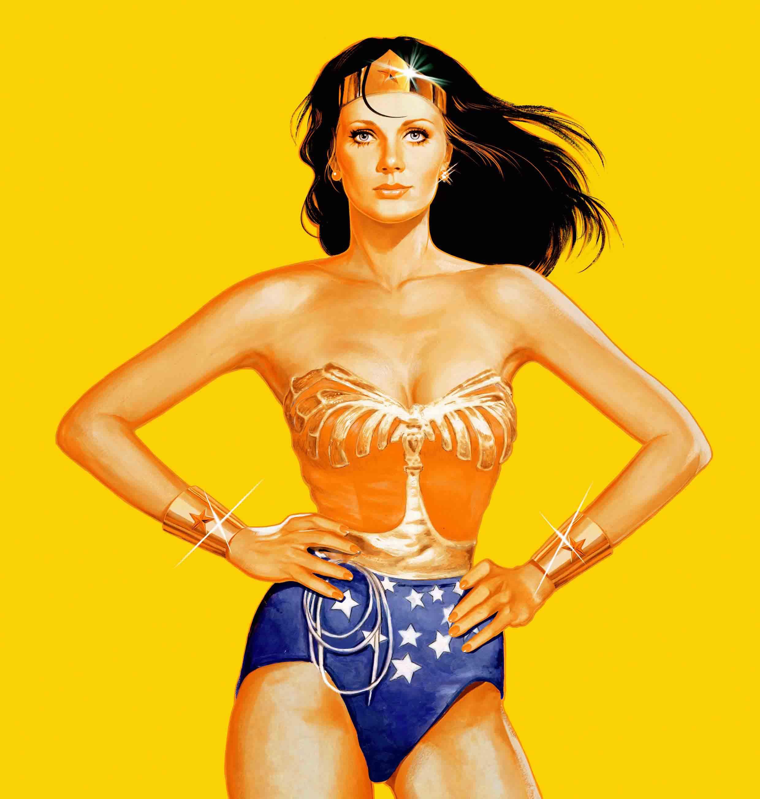 Wonder Woman Lynda Carter Yellow version Art By John Keaveney  low res.jpg
