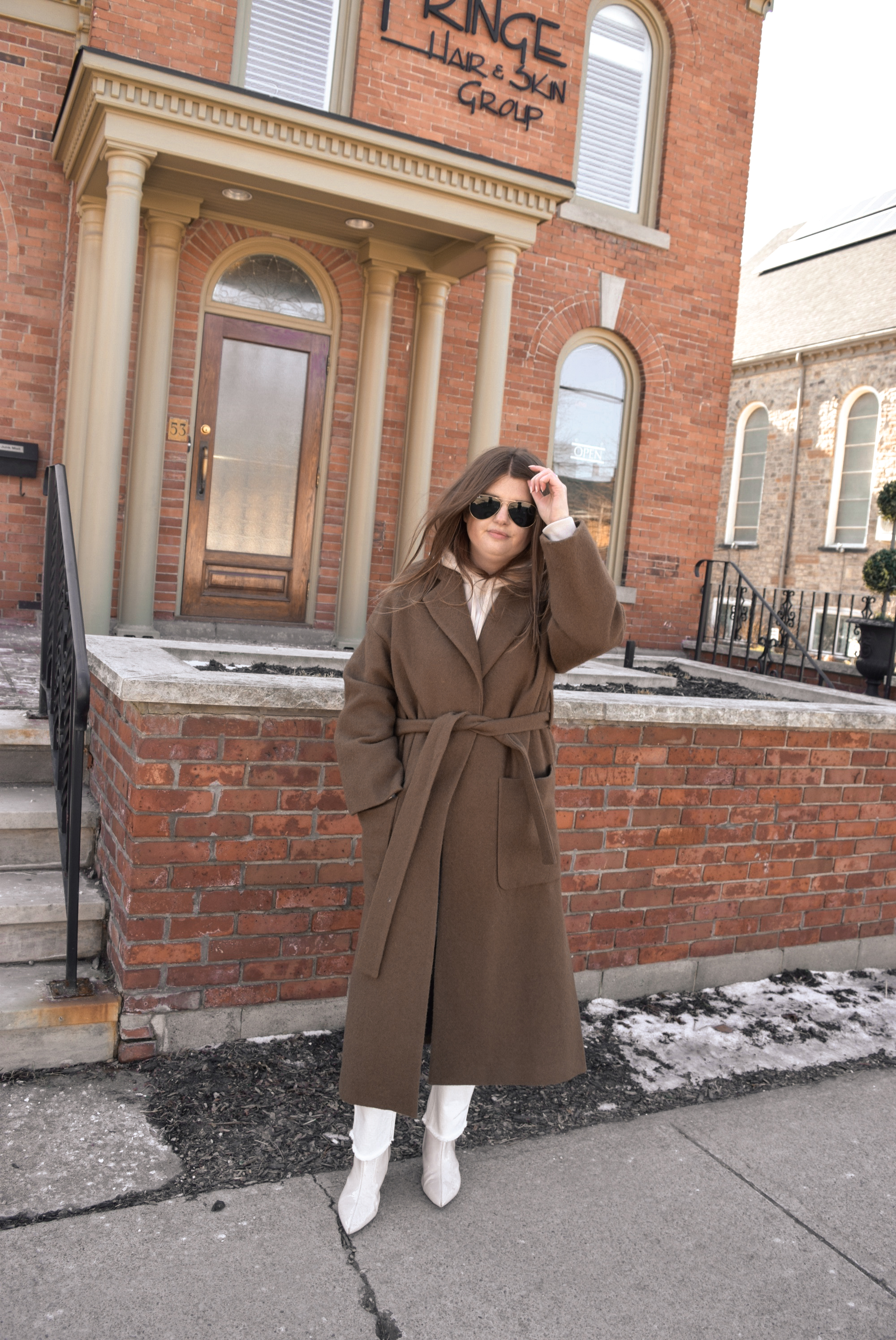 Zara brown coat