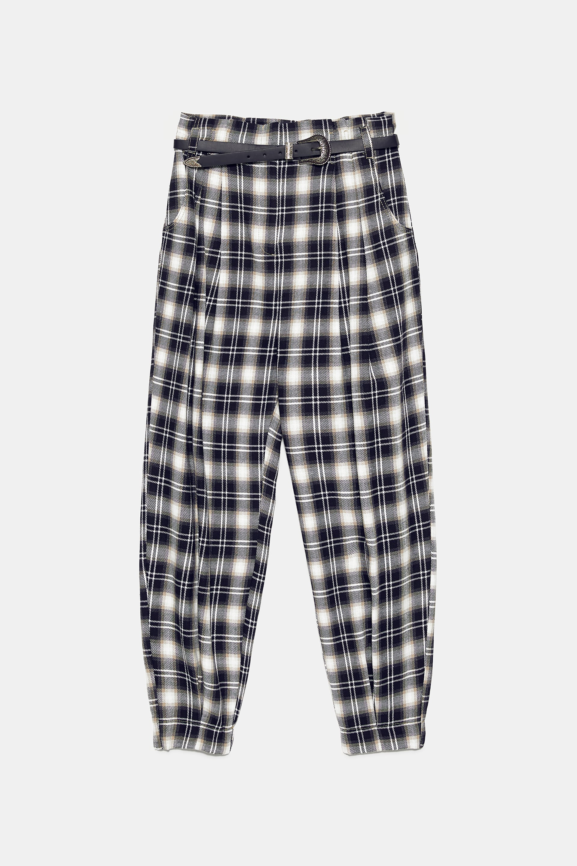 1. plaid pants