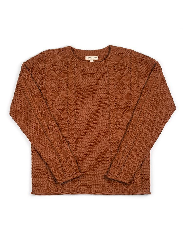 3. chunky knit sweater
