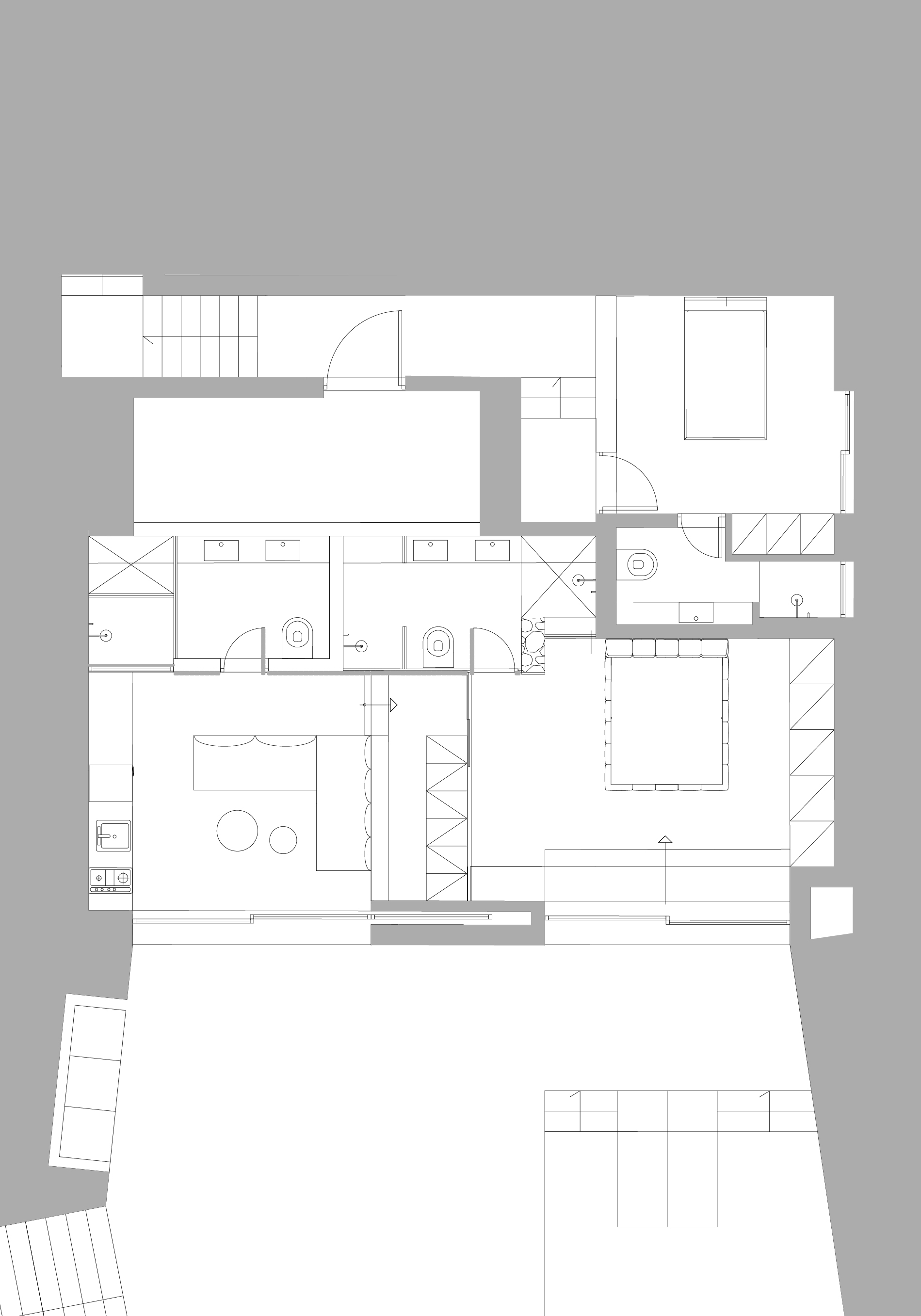 SUITES 5,6 & 7 - THE GUEST HOUSE