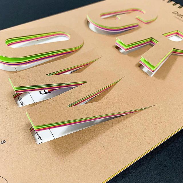 Digitally Cut Calendar