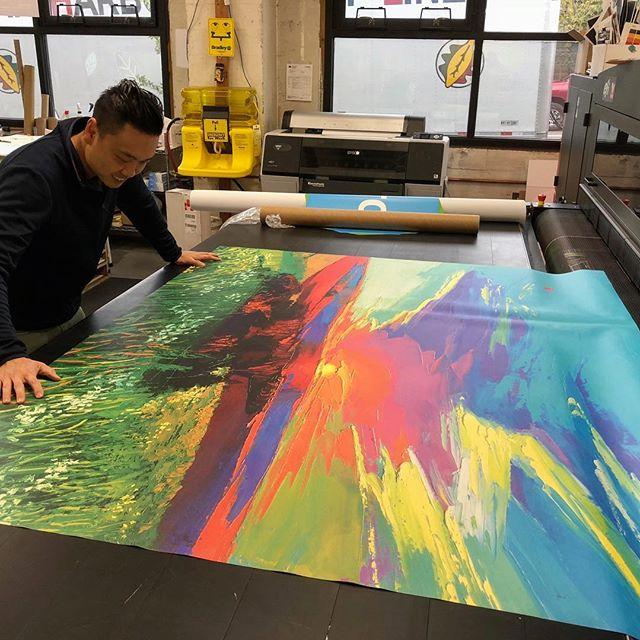 Wide Format Custom Art Prints
