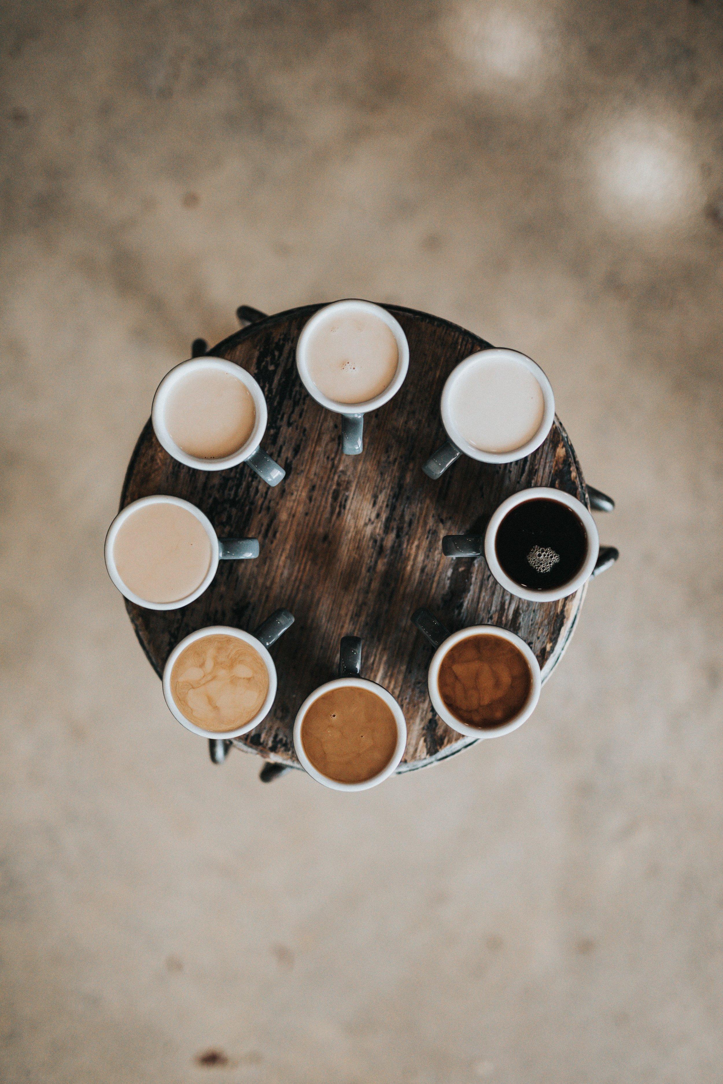 Coffee Creamer Wheel