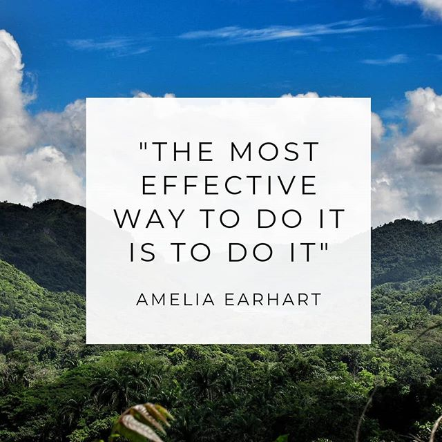 Ever find yourself hearing that voice in your head that what you are trying to achieve is too hard and so you find excuses not to take the steps to teach your goals? Well, stop that right now. This might be new territory but so was flying when Amelia Earhart started out. . . . #justdoit #startuplife #inspiredconfidence #dothework