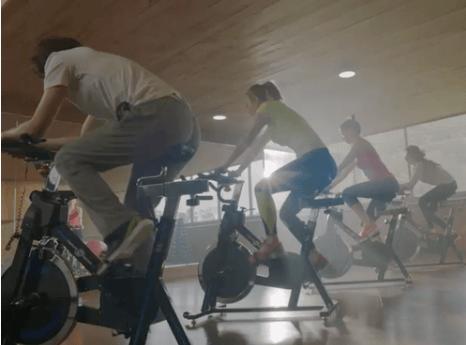 ejercicio, energia y aceite saludable