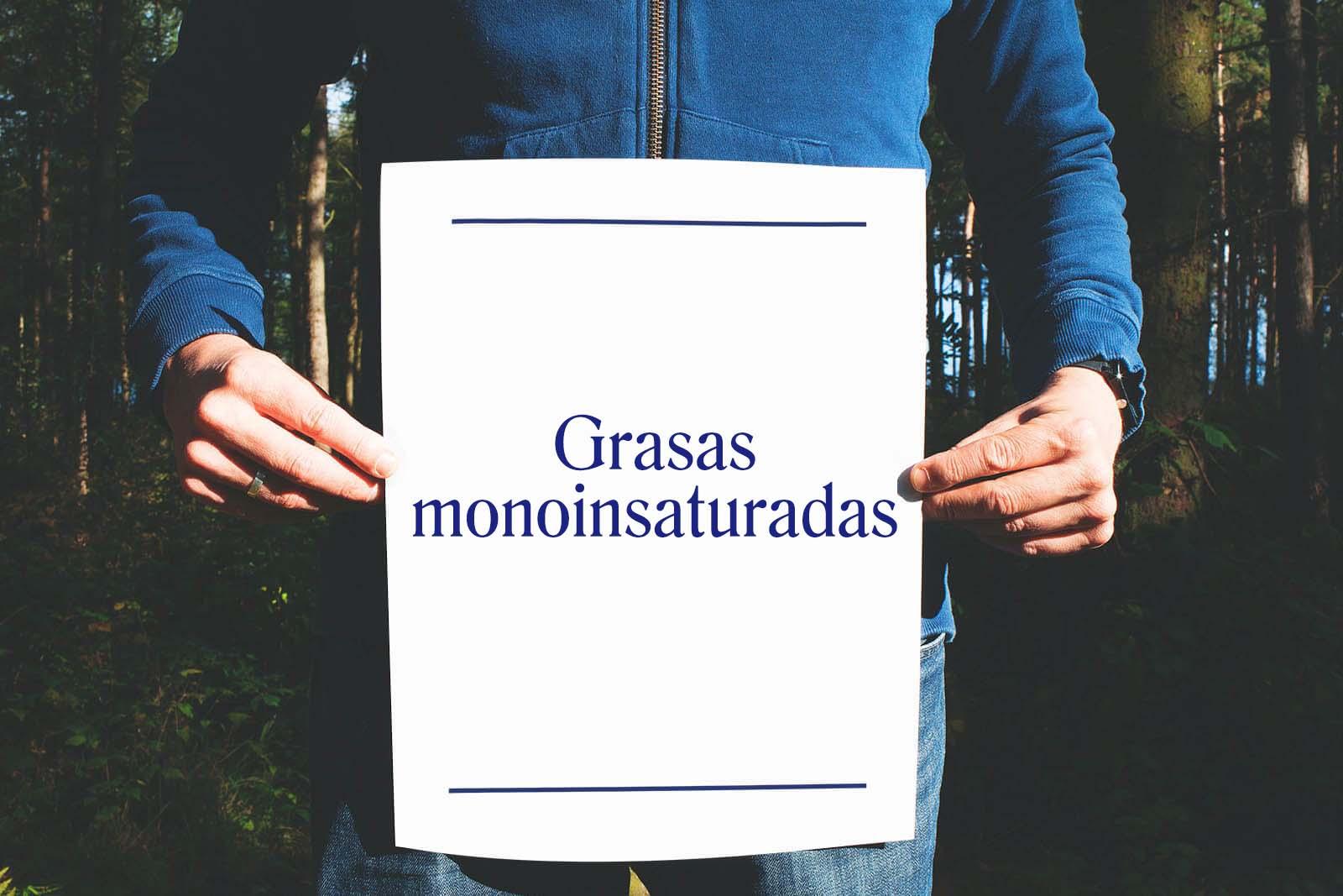Grasas monoinsaturadas