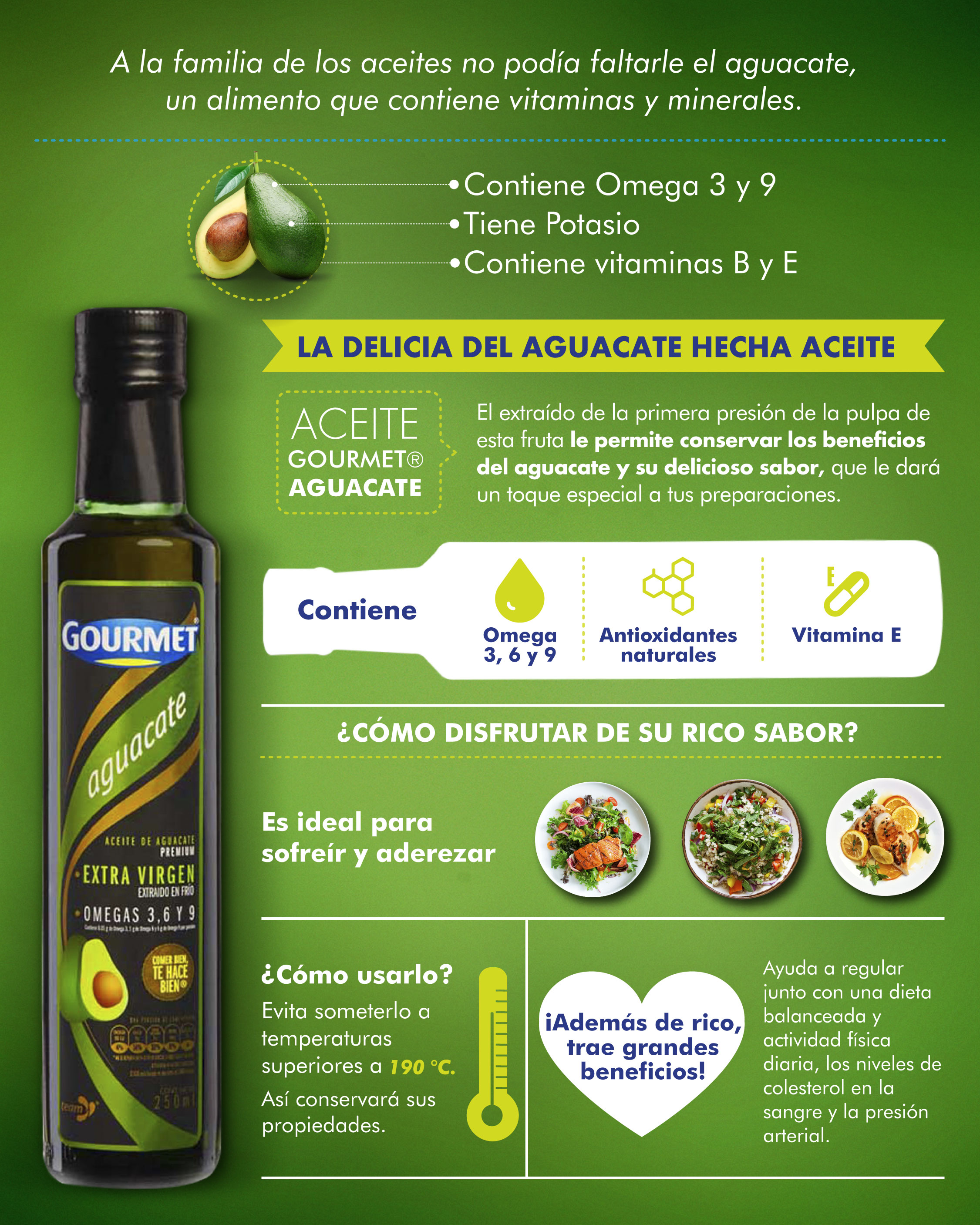 Aceite Gourmet Aguacate