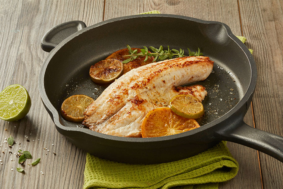 Filete de Tilapia a la naranja - con Aceite Gourmet® Familia