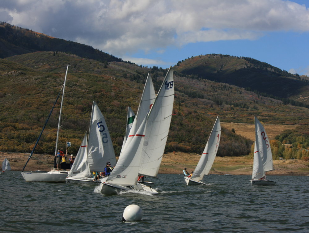 Junior Racing in the Fall Regatta