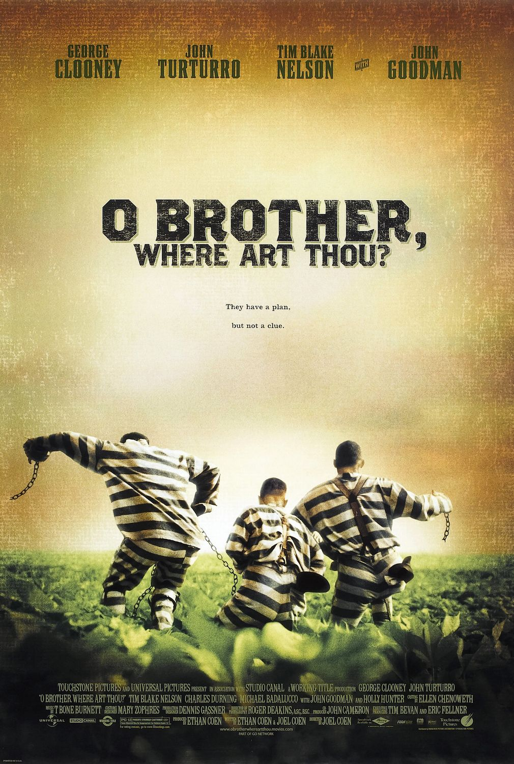 O Brother Where Art Thou Film Movie Poster