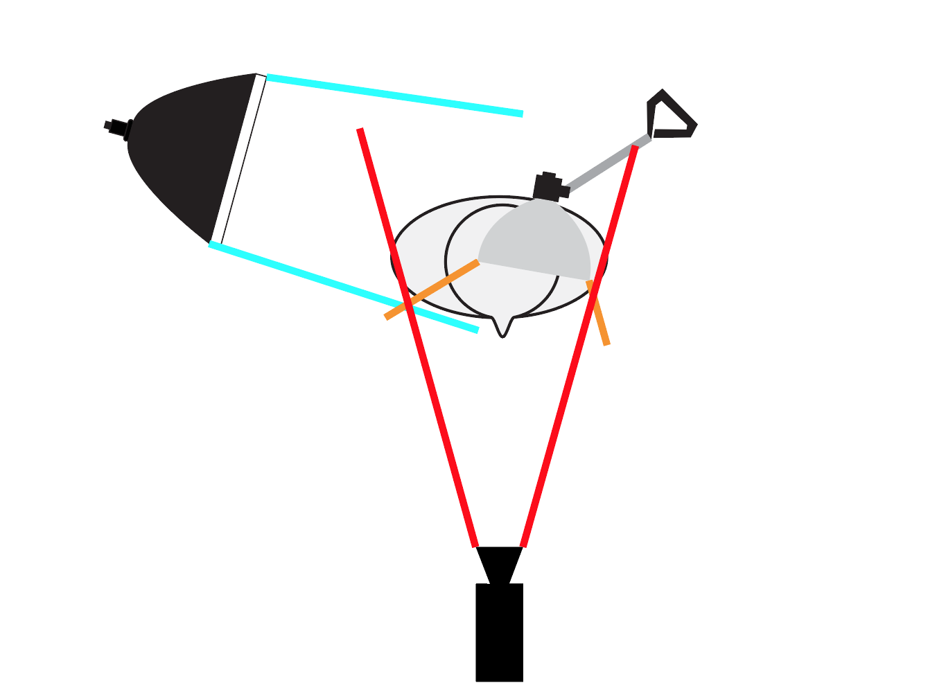 Austin Newell Lighting plot for profile picture