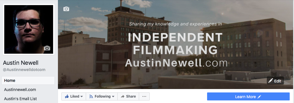 Austin Newell Facebook Page