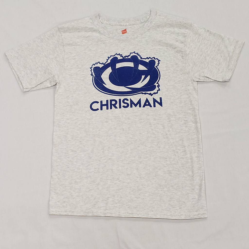 Ash Grey William Chrisman Tee   from 9.99